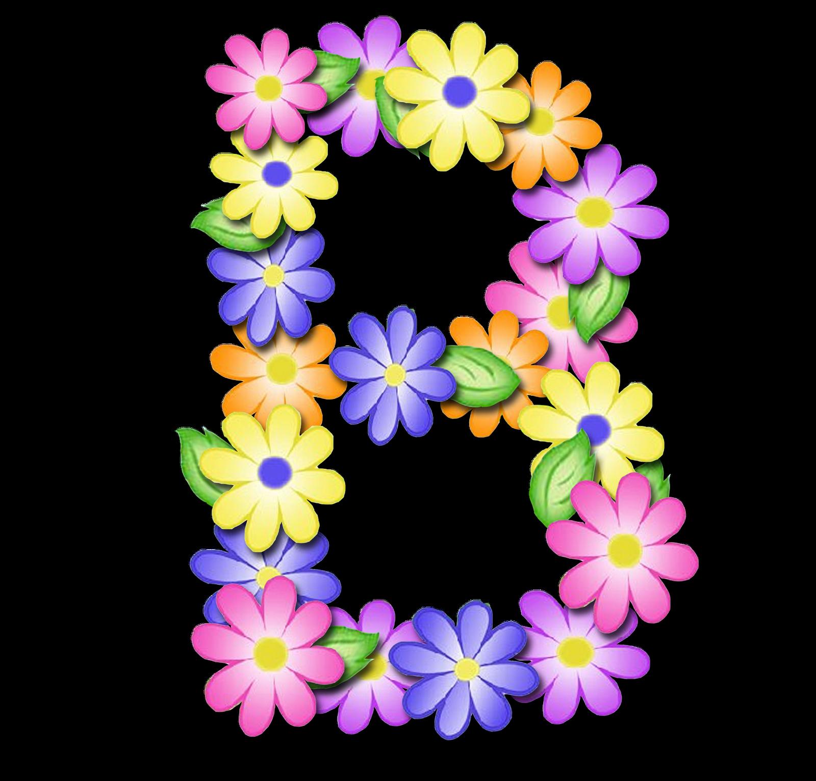صور الحروف الإنجليزية بأجمل الزهور والورود بخلفية شفافة بنج png وجودة عالية للمصممين :: إبحث عن حروف إسمك بالإنجليزية B