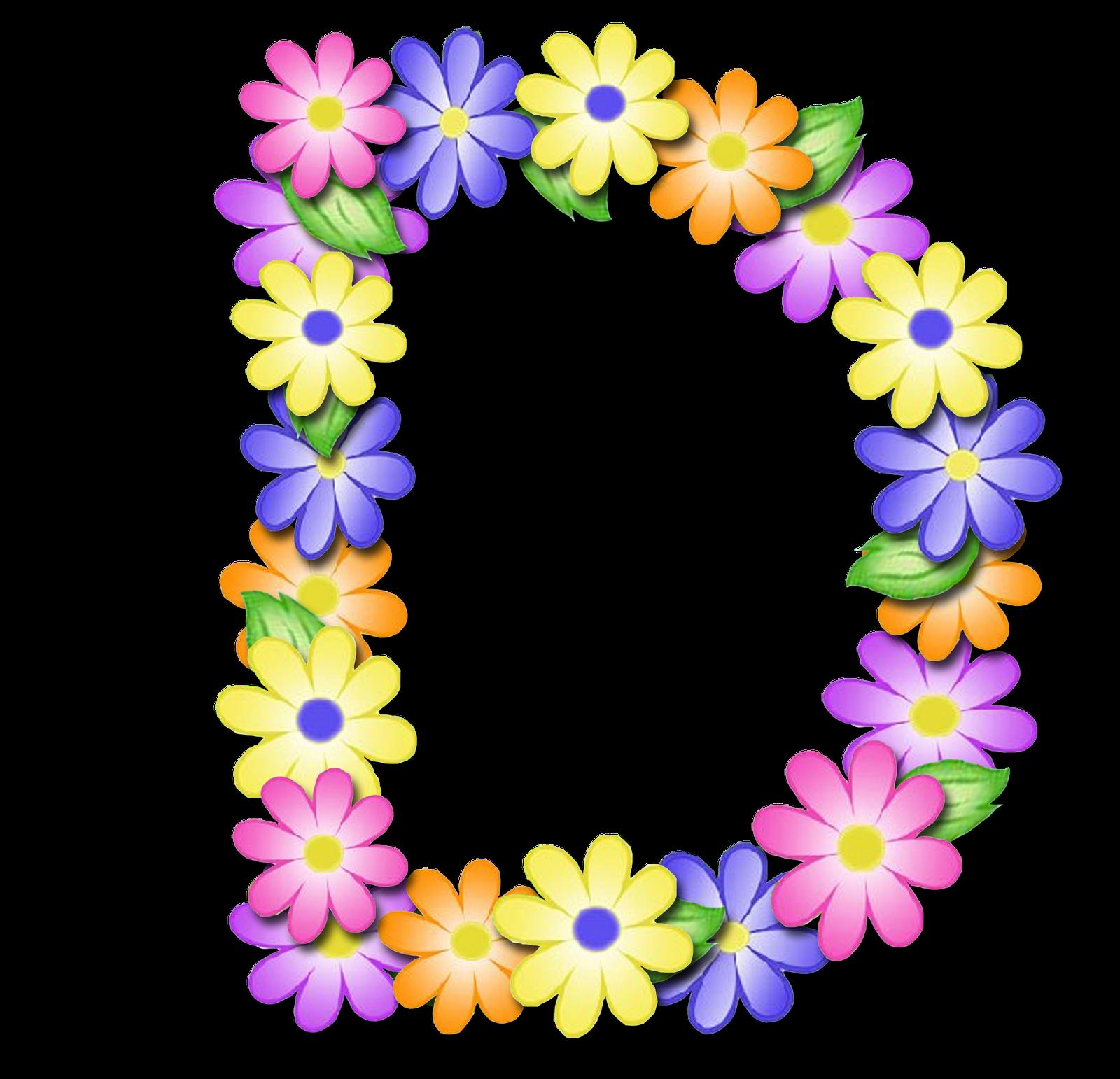 صور الحروف الإنجليزية بأجمل الزهور والورود بخلفية شفافة بنج png وجودة عالية للمصممين :: إبحث عن حروف إسمك بالإنجليزية D