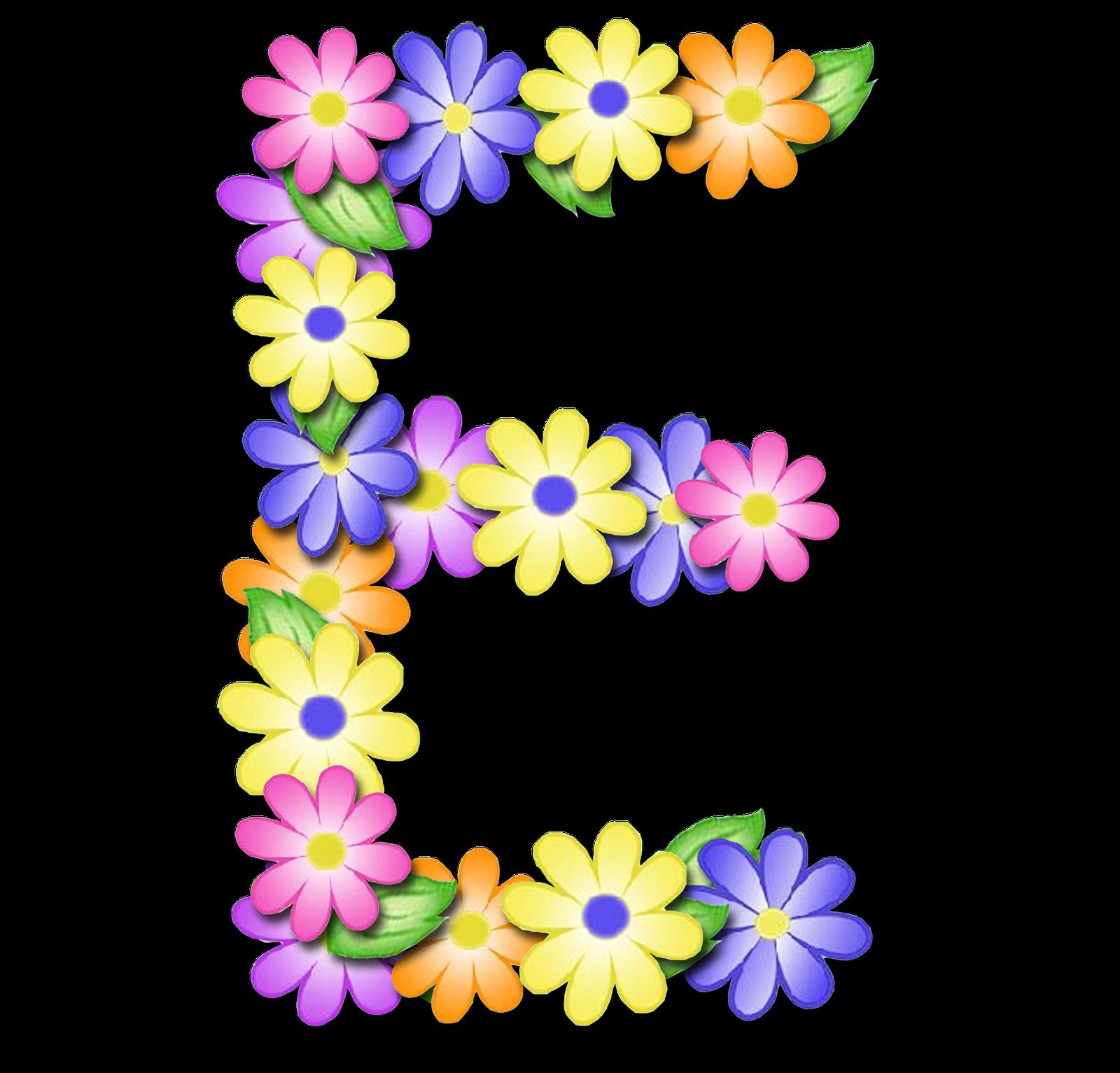 صور الحروف الإنجليزية بأجمل الزهور والورود بخلفية شفافة بنج png وجودة عالية للمصممين :: إبحث عن حروف إسمك بالإنجليزية E